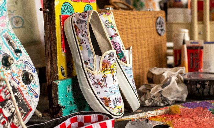 Vans จับมือ ศิลปินมาเลเซีย ปล่อยคอลเลคชั่นจากภาพวาดมือเต็มไปด้วยสีสัน