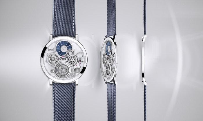 นาฬิการะบบกลไกที่บางที่สุดในโลก