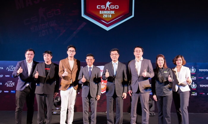 TOYOTA MASTER CSGO BANGKOK 2018 การแข่งขันอีสปอร์ตสุดยิ่งใหญ่พร้อมเงินรางวัลกว่า 3 ล้านบาท
