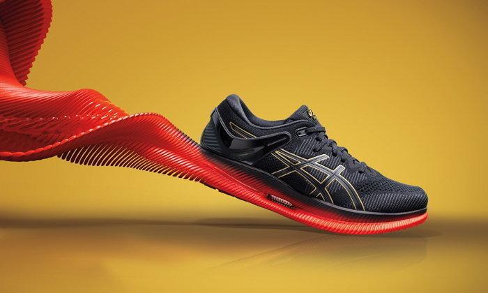 METARIDE™รองเท้าที่จะช่วยเพิ่มแรงส่ง ทำให้การวิ่งระยะไกลง่ายขึ้น จาก ASICS