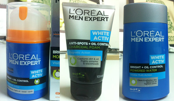 Review : L'Oreal Men Expert White Activ Oil Control
