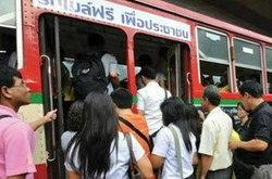 จ่อขึ้นค่ารถเมล์ อีกแล้ว!
