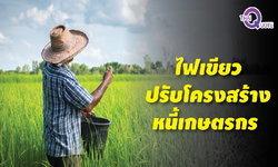 เกษตรกรดีใจน้ำตาไหล! มติคณะรัฐมนตรีไฟเขียวปรับโครงสร้างหนี้เกษตรกร