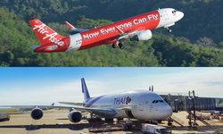 การบินไทย-แอร์เอเชีย ยกเลิกเที่ยวบินไปฮ่องกง เหตุผู้ประท้วงบุกสนามบิน