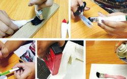 """ใส่ไอเดีย ทาสี สร้างสรรค์เป็น """"Handmade Hook Brush"""""""