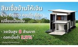 สินเชื่อบ้านให้เงินกรุงไทยชัวร์  เปลี่ยนบ้าน ตึกแถว คอนโด ที่ดินให้เป็นเงิน