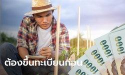 เกษตรกรปลูกพืชช่วง มิ.ย. นี้ ควรลงทะเบียนเกษตรกรในวันที่ 15 พ.ค. นี้ รับเงิน 15,000 บาท