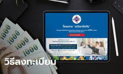 สรุปวิธีลงทะเบียน www.ม33เรารักกัน.com ขอรับสิทธิ 4,000 บาท กรอกข้อมูลง่ายเว่อร์