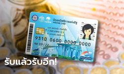 บัตรสวัสดิการแห่งรัฐ บัตรคนจน รับเงินรูดซื้อของรวม 1,200 บาท เยียวยาโควิด-19