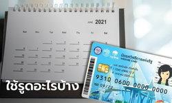 """บัตรสวัสดิการแห่งรัฐ บัตรคนจน เดือนมิถุนายน 2564 ใช้ """"รูดปรื๊ด"""" ได้หลายรายการ เช็กเลย!"""