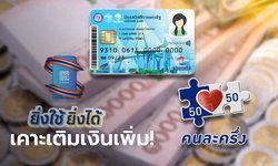 ครม. เคาะเติมเงินบัตรคนจน-คนละครึ่งเฟส 3-ยิ่งใช้ยิ่งได้ วงเงินกว่า 5.4 หมื่นล้านบาท