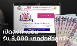 เปิดลงทะเบียน ส่งเสริมการจ้างงานเอสเอ็มอี.doe.go.th เยียวยา SMEs หัวละ 3,000 บาท