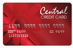 บัตรเครดิต Central Red