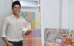 Give The Gift กระดาษแนวคิดใหม่ ที่ใส่ใจสิ่งแวดล้อม