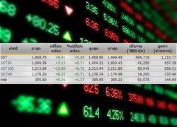 หุ้นไทยเปิดตลาดปรับตัวเพิ่มขึ้น 9.91จุด