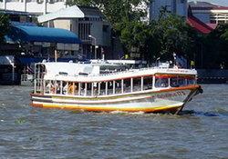 เรือด่วนเชื่อน้ำทะเลหนุนยังให้บริการได้ปกติ