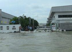 น้ำท่วมกระทบโรงงาน 81แห่งสูญ85ล้าน