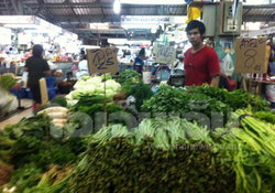 ตลาดยิ่งเจริญ ราคาผักปรับราคาขึ้น