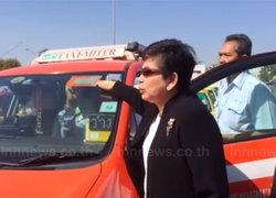 สุวรรณภูมิจับมือแท็กซี่ติดสติ๊กเกอร์สีส้ม
