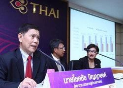 การบินไทยคาดQ1ขาดทุน30ล้านมั่นใจทั้งปีมีกำไร