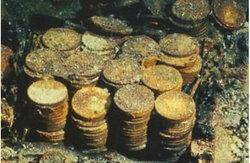 นักสำรวจมะกันพบซากเรือพร้อมทองมูลค่านับล้านดอลล่าร์