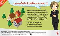 วางแผนซื้อบ้านไม่ใช่เรื่องยาก (ตอน 1)