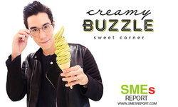 เขื่อน ภัทรดนัย ลุยธุรกิจไอศกรีมแฟนตาซี Creamy Buzzle D.I.Y. เมนูได้เองตามใจชอบ!