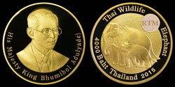ธนารักษ์ผลิตเหรียญกษาปณ์ที่ระลึกช้างไทยขายทั่วโลก ราคาสูงสุดเฉียดแสนบาทต่อเหรียญ