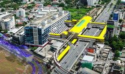 รฟม.แจงข่าว รถไฟฟ้าสายสีเหลืองหาย 1 สถานีซ้ำรอยสายสีม่วง ยันมีทางเดินเชื่อมต่อสถานีอื่น   รฟม.ชี้แจง
