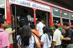 รถเมล์ฟรีรอบกรุง สงกรานต์นี้ !!