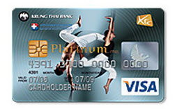 บัตรเครดิต KTC Bangkok Hospital Group Visa Platinum
