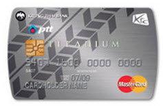 บัตรเครดิต KTC PTT Titanium MasterCard