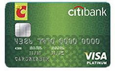 บัตรเครดิต ซิตี้แบงก์ บิ๊กซี วีซ่า แพลตตินั่ม