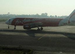 นกบินชนเครื่องแอร์เอเชียปีกชำรุดขณะร่อนจอดนครศรีฯ