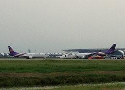 ทีจี507บินกลับกรุงเทพฯเพื่อความปลอดภัย