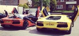 OMG! อวดรวยผ่าน IG เจอคนหมั่นไส้ บุกเผา Lamborghini, Bentley, Audi R8