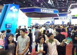 Thailand Mobie Expo ที่ศูนย์สิริกิติ์คึกคัก