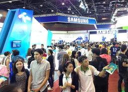 Thailand Mobile Expo ช่วงบ่ายยังคึกคัก