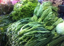 กินเจรอบที่2ดันราคาผักย่านลาดพร้าวปรับสูงขึ้น