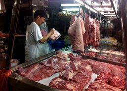 ราคาสินค้าวันนี้ราคาเนื้อหมูปรับตัวสูงขึ้น