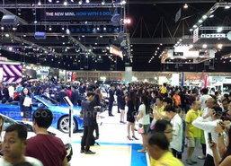 Motor Expo 2014 ช่วงเย็นยังคึกคัก