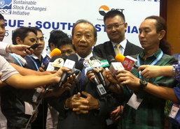 สมหมายชี้ต้องเร่งพัฒนาตลาดทุนไทยให้ยอมรับเพิ่มขึ้น