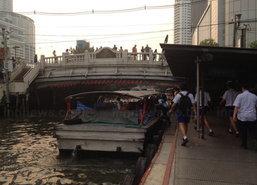 เรือแสนแสบห่วงน้ำในคลองลดอีก10นิ้ว