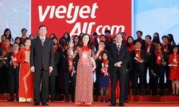 เวียตเจ็ท ขึ้นแท่น 1 ใน 15 แบรนด์ที่แข็งแกร่งที่สุดในเวียดนาม