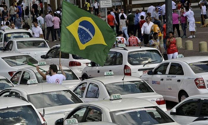 คนขับ 'อูเบอร์' ในบราซิล ประท้วงต้านกฎหมายใหม่