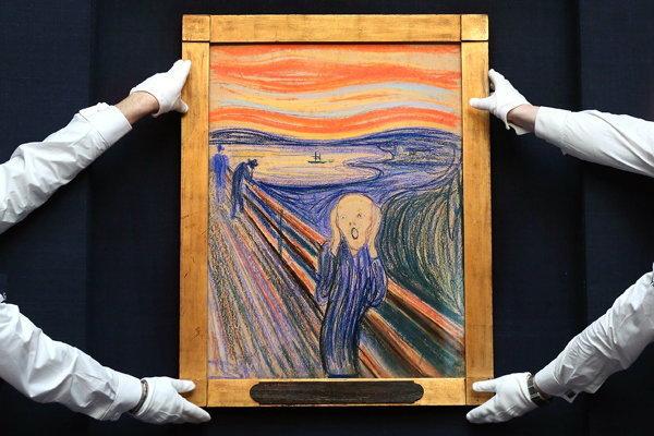 แพงเว่อร์! ราคาประมูลภาพ The Scream 3,597 ล้าน