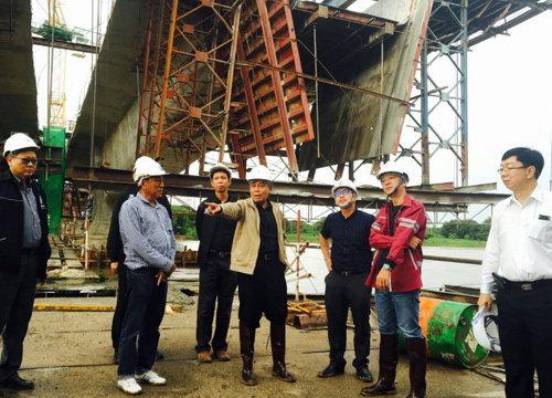 ทางหลวงชนบทตรวจสอบสะพานทรุดที่ชัยยาท