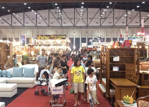 Thailand One Stop Shopping Expo คึกคัก