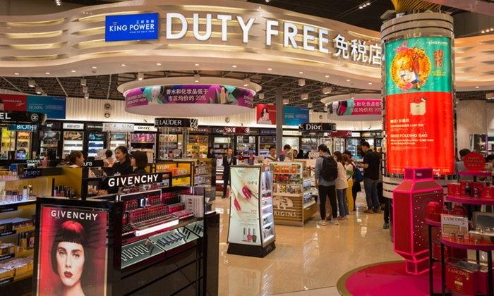 """""""คิง เพาเวอร์"""" คว้าสิทธิ์บริหารสินค้าลักชัวรี่ที่สนามบินฮ่องกง"""