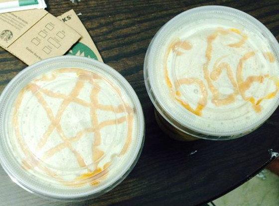 ครูมะกันอึ้ง! เจอซาตานในแก้วกาแฟ